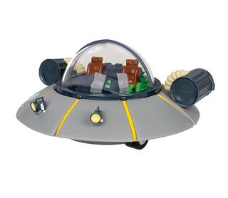 就讓最強的飛船來守護你的零用錢吧!!USAopoly《瑞克和莫蒂》瑞克的太空飛船造型存錢筒 Rick and Morty Rick's Ship Collectible Coin Bank