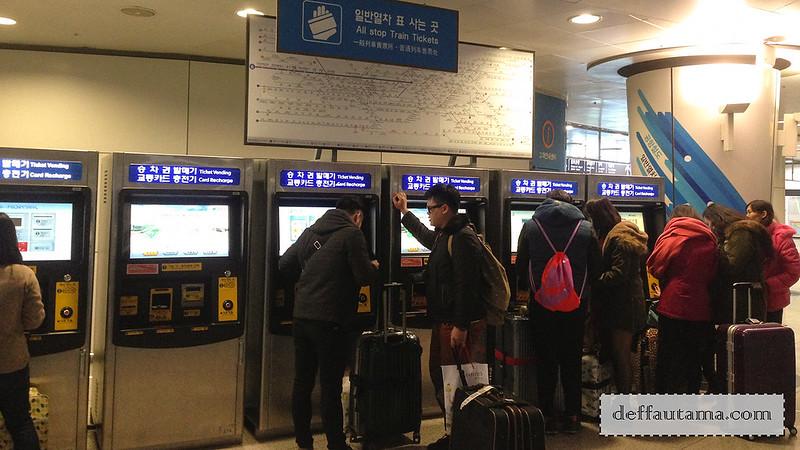 5 hari di Seoul - Ticket Vending Machine