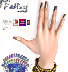 New Nails for HallNails ,Stelline for New for Event -Crazy-Fashion