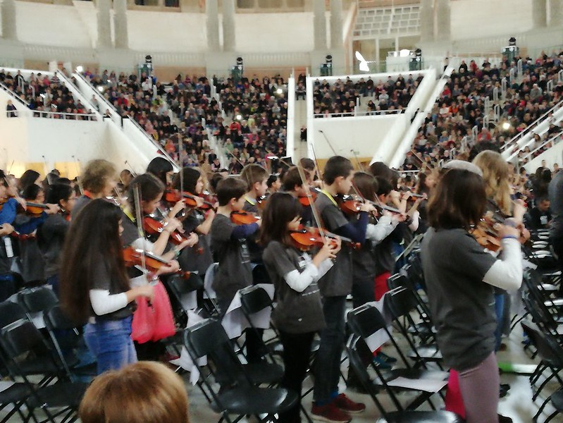 Trobada Fiddle al MNAC