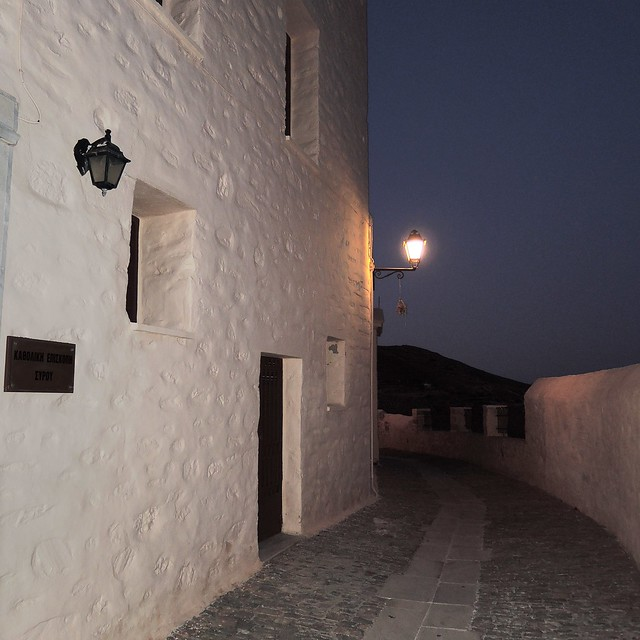 Syros old town