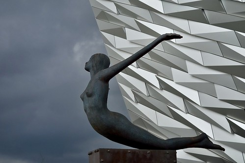 Titanic Belfast Museum. From Studying Abroad in London: 10 Places Not to Miss Like I Did, Part 1