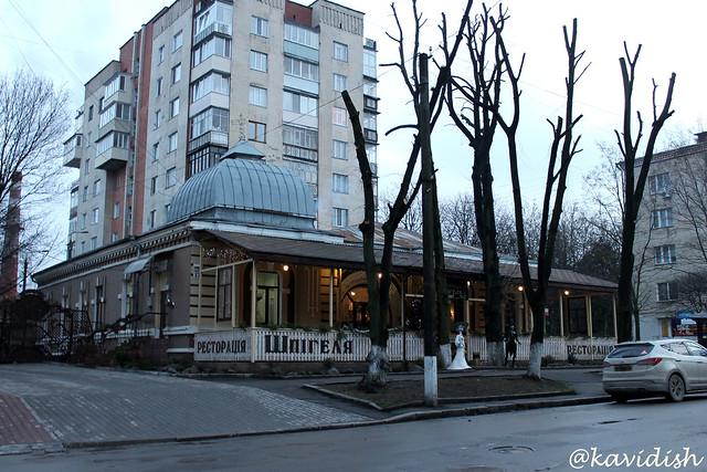Будинок юриста Ісаака Шпігеля (нині ресторація Шпігеля)