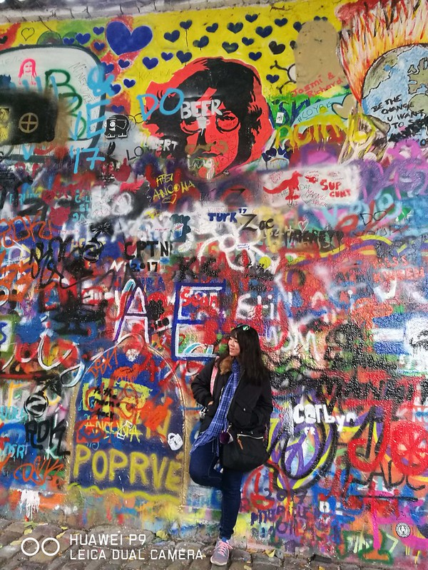 2017 Europe Prague 20 Prague Lennon Wall
