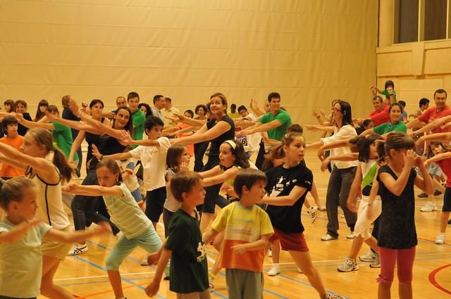 Festa final de curs Escoles Esportives INEF 2009-2010