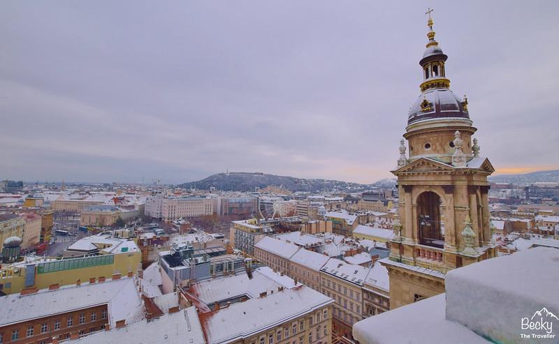 Budapest Hungary St Stephen's Basilica