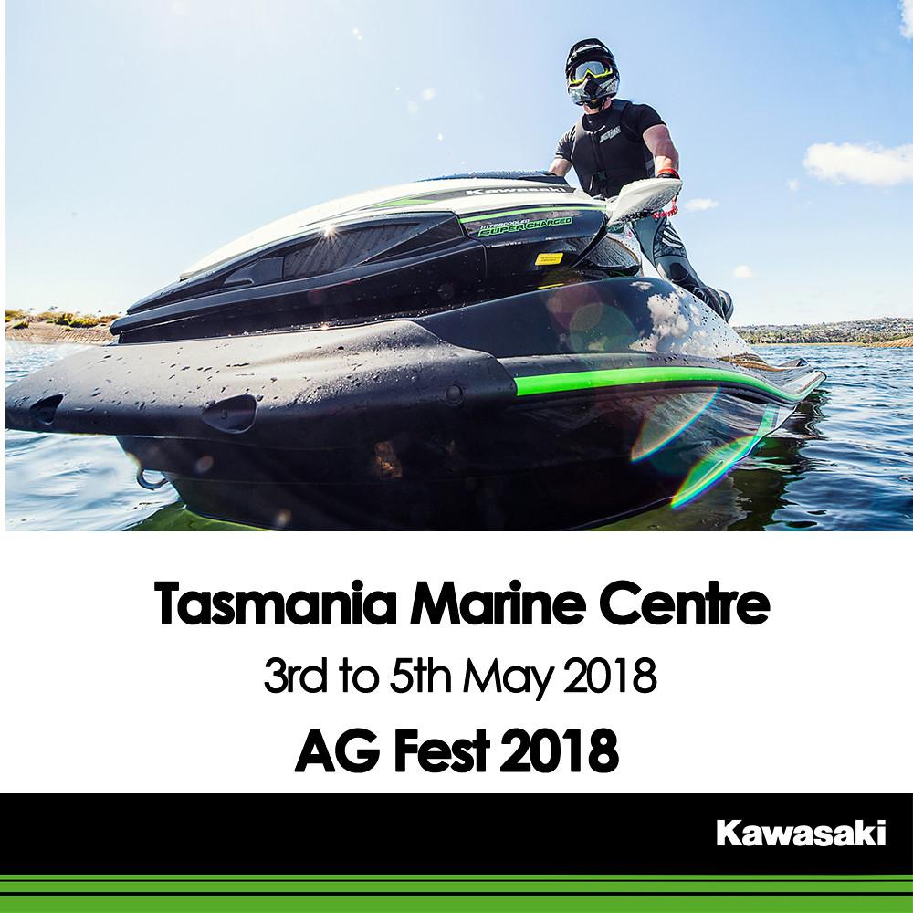 KAWASAKI DEALER EVENT – AG Fest 2018 – Tasmania Marine Centre – 3rd to 5th May