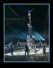 Tower of Chairs -- Cirque Du Soleil  Topeka, KS