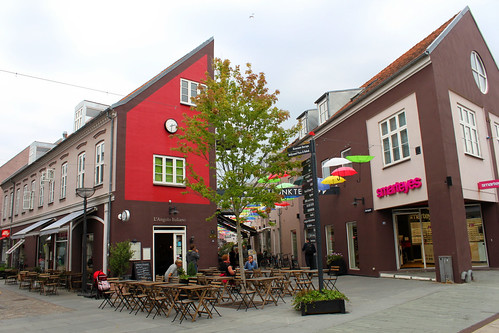 shopping street in Vejle