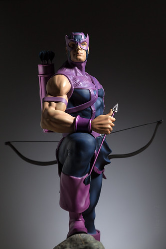 Hawkeye | Statue | Kotobukiya | by leadin2