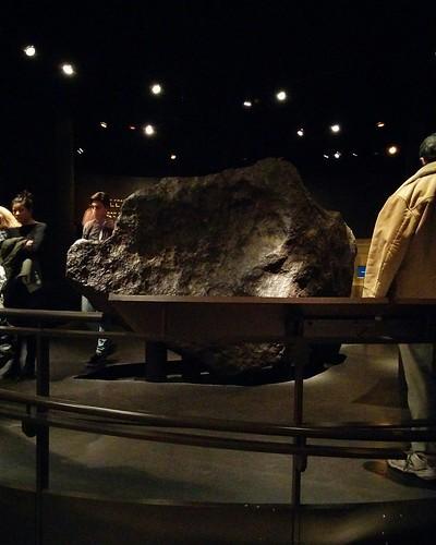 Ahnighito #newyorkcity #newyork #manhattan #amnh #ahnighito #ahnighitometeorite #greenland #meteorite #americanmuseumofnaturalhistory #latergram