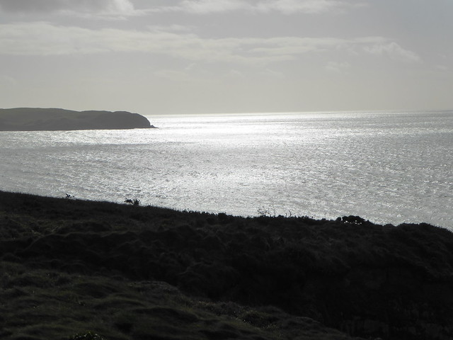 Looking eastwards from the coast path above Bantham