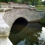 Tue, 07/03/2012 - 8:26pm - stone bridge in Glen Miller Park, Richmond, IN