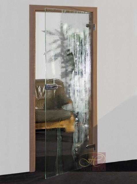 pinus skleněné dveře