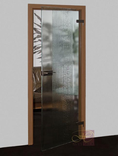 pecten skleněné dveře