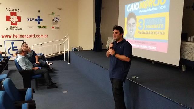 Visita Deputado Caio Narcio