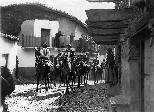 Las Hurdes. Visita de Alfonso XIII, 1922