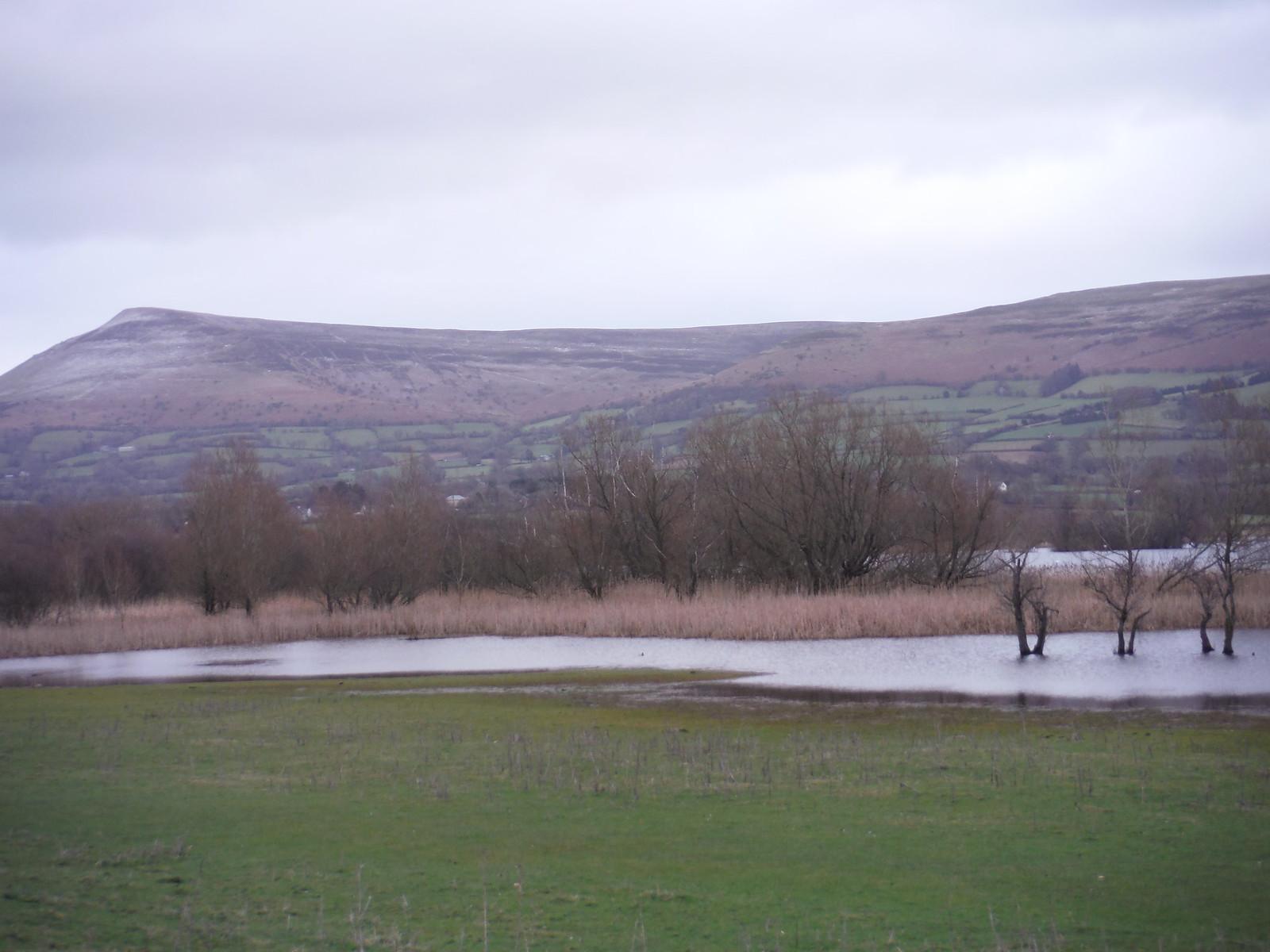 Mynydd Troed, Mynydd Llangorse and Llangorse Lake SWC Walk 308 - Bwlch Circular (via Mynydd Troed and Llangorse Lake)