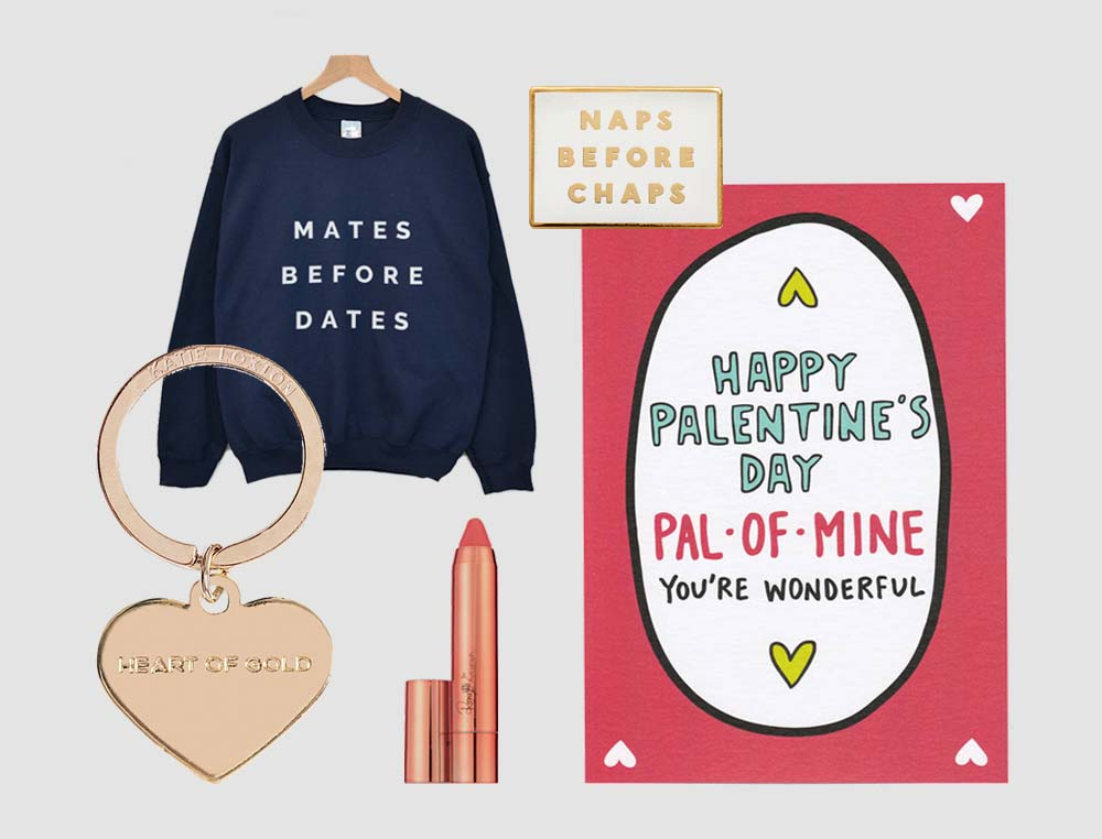 37 Galentine's Day Gifts For Your Friends: treat your best friend to one of these alternative gifts on Valentine's Day. Includes jewellery, homewares, cards, books and even things for a foodie.