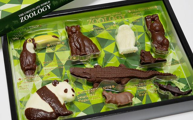 バレンタイン ズーロジー チョコレート ZOOLOGY 動物のチョコ