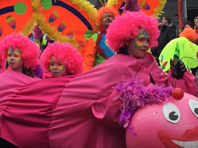 Carnavalsoptocht in Holten