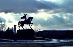 Ташкент. Памятник Амиру Темуру (Тамерлану). Tashkent. Monument to Amir Temur (Tamerlane).