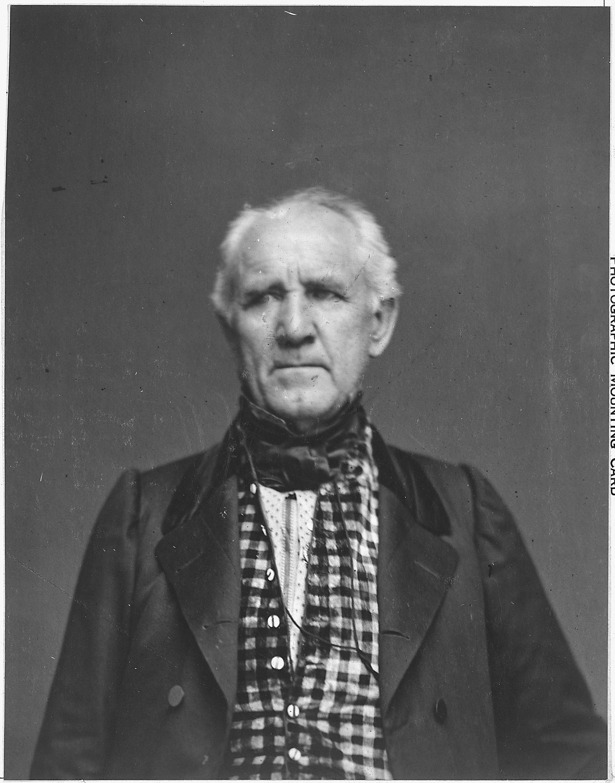 Sam Houston, circa 1862