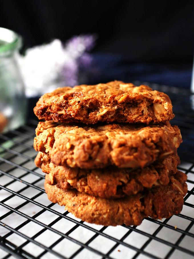 全素椰片花生燕麥餅乾 vegan-coconut-peanut-butter-oatmeal-cookies (5)
