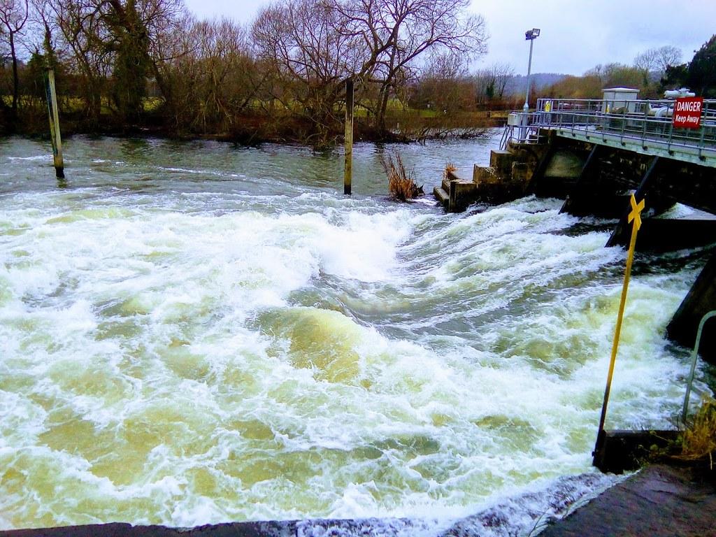 Quite rapid Hambleden falls