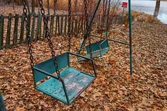 old blue Swing