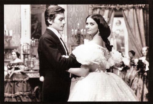 Alain Delon and Claudia Cardinale in Il Gattopardo (1963)