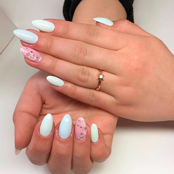 Elegant Ideas For Gel Nail Manicure Designs Nails C