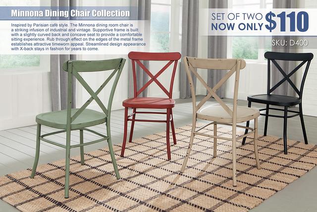 Minnona Dining Chairs_D400-101-102-103-104