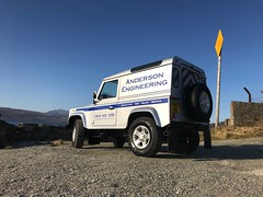 Anderson Engineering Land Rover Defender SA63 VBL
