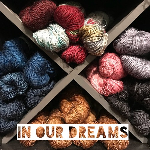Follow #28daysofyourlys to see what local yarn shops from all over are doing! Today is Day 16: In Our Dreams...we would have all the yarn and fibre that we want❤️