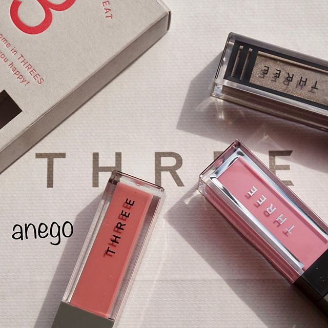 #threecosmetics #triplestreet #makeup #blush #eyeshadow #lip