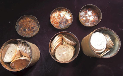 Saddle Ridge coin cans