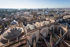 Seville, Roof of the Cathedral