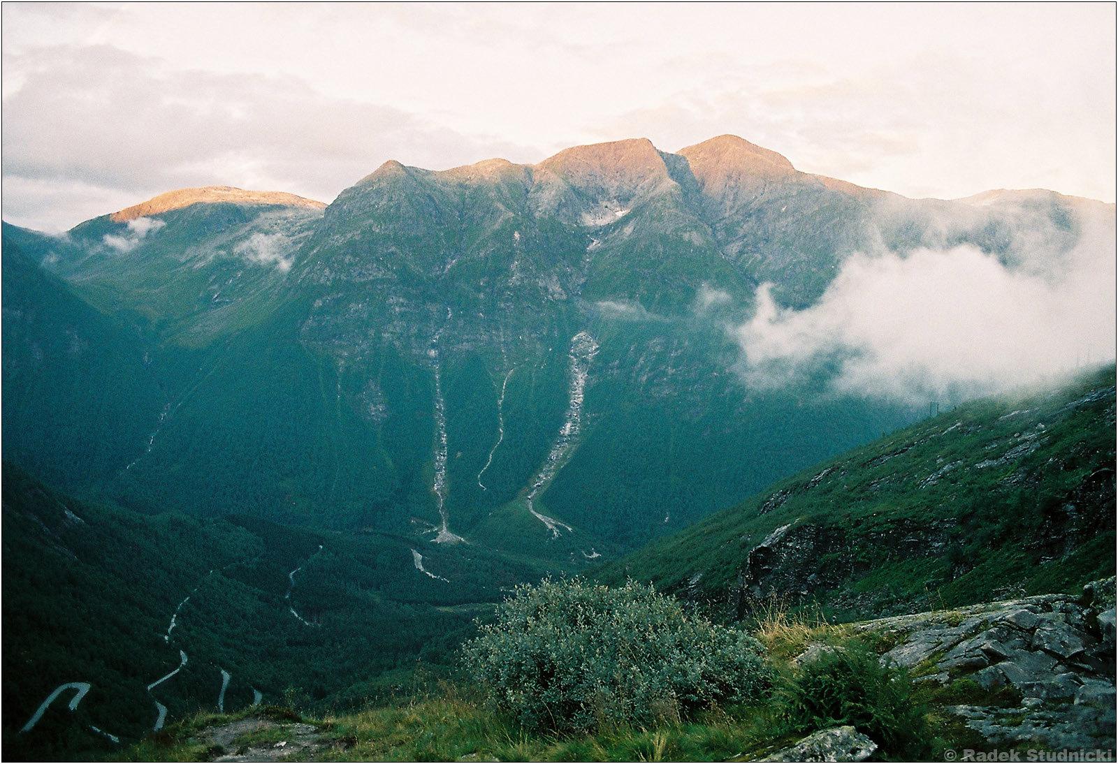 Widok z Gaularfjellet