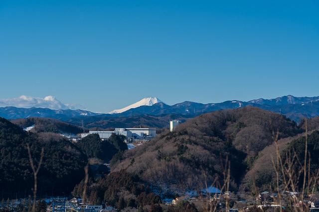 富士山@天覧山