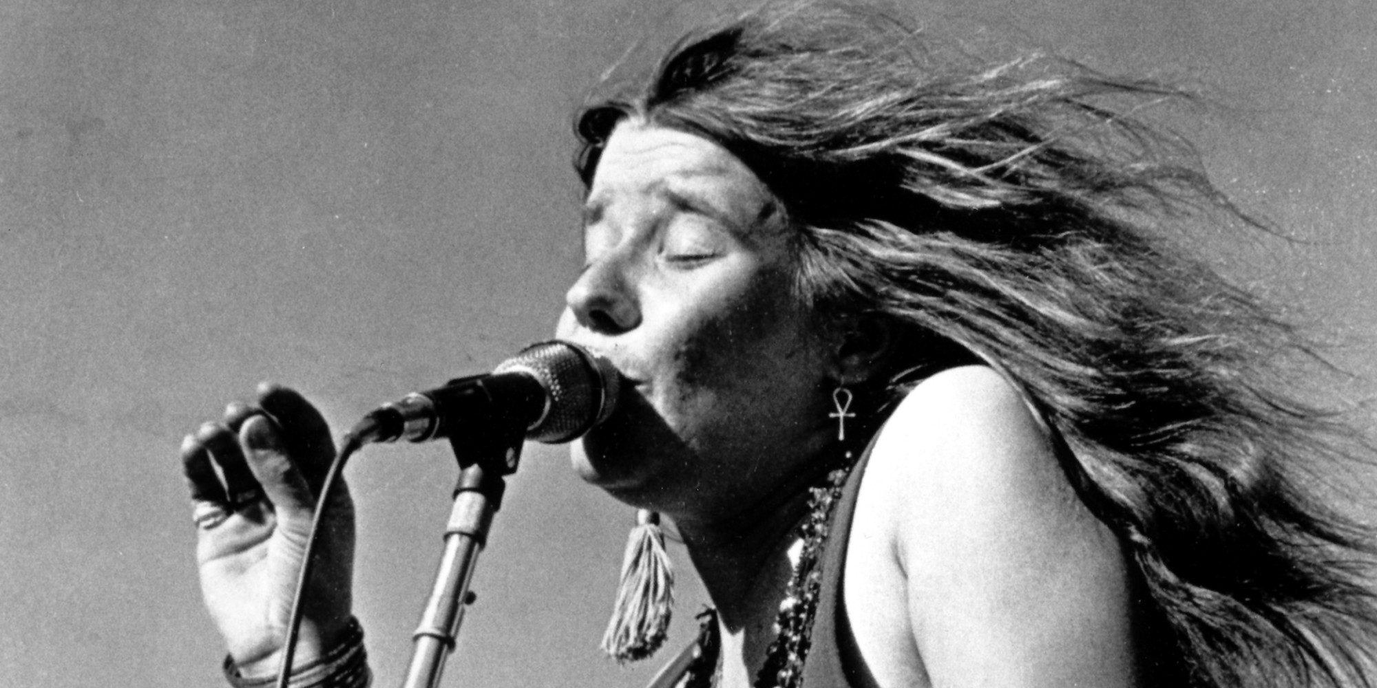 Janis Joplin performing in 1968.