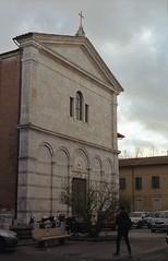 Pisa facciata della chiesa di San Martino