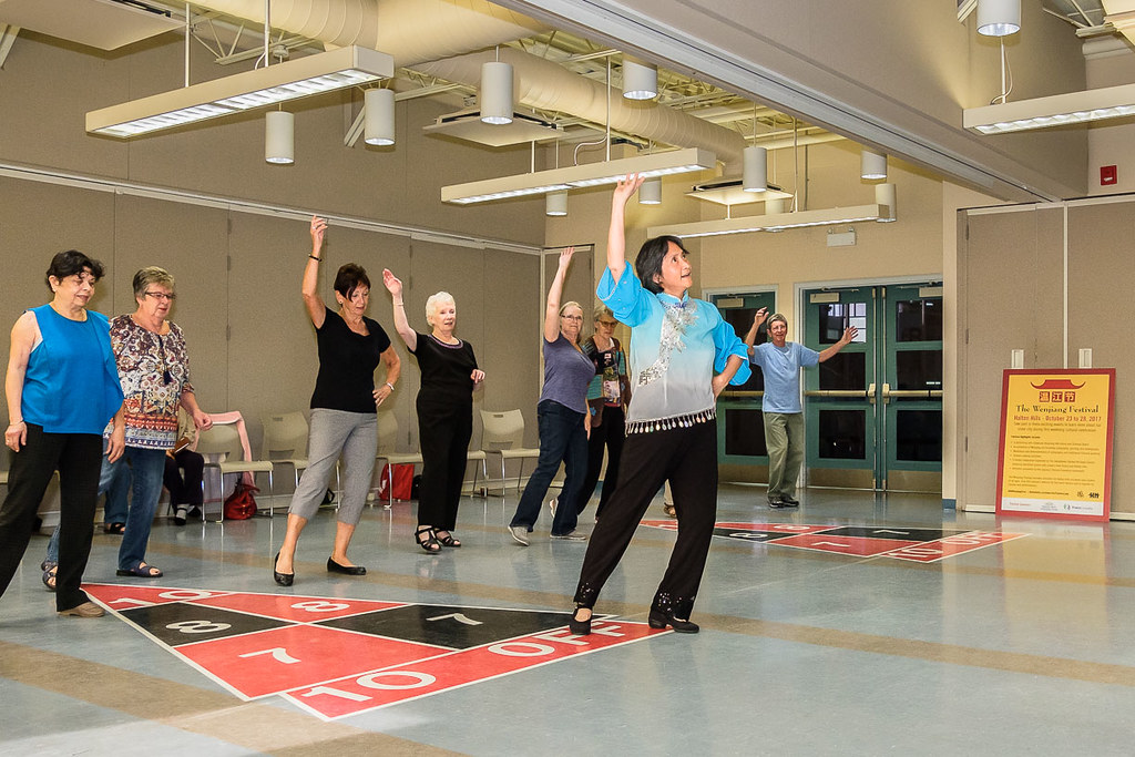 Traditiohal Chinese Dance Class at Hillsview Active Living Centre - Acton