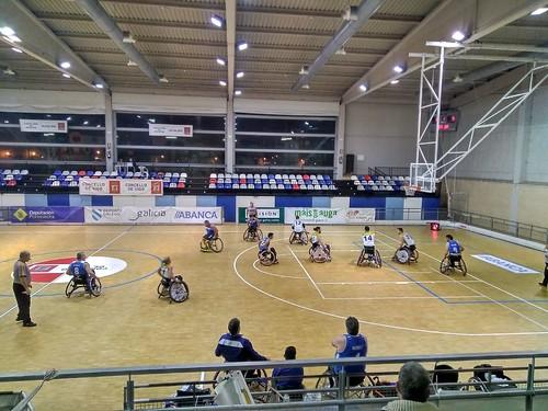 Baloncesto en Silla de Ruedas Vistazil Amfiv Vigo