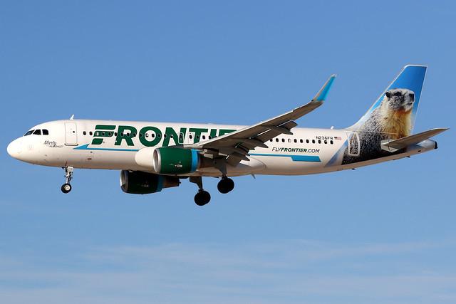 Frontier Airlines | Airbus A320-200 | N236FR | Las Vegas McCarran