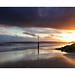 Epic sunset at Branksome beach