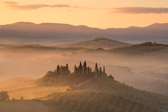 A Tuscany Morning