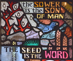 The Sower is the Son of Man, the Seed is the Word (Hugh Powell, 1966)