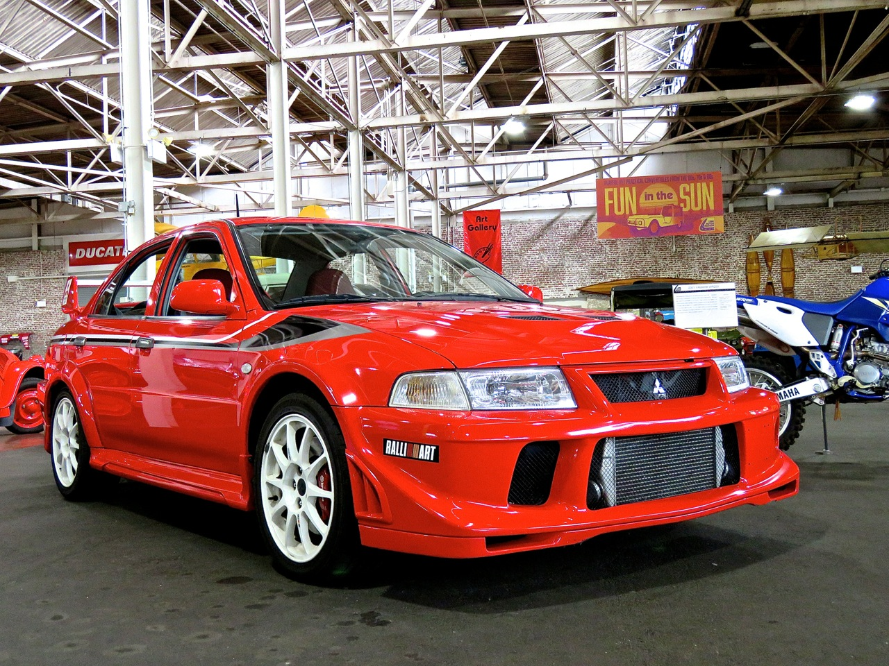 Lancer Evo VI Tommi Makinen Edition Lane Museum 1