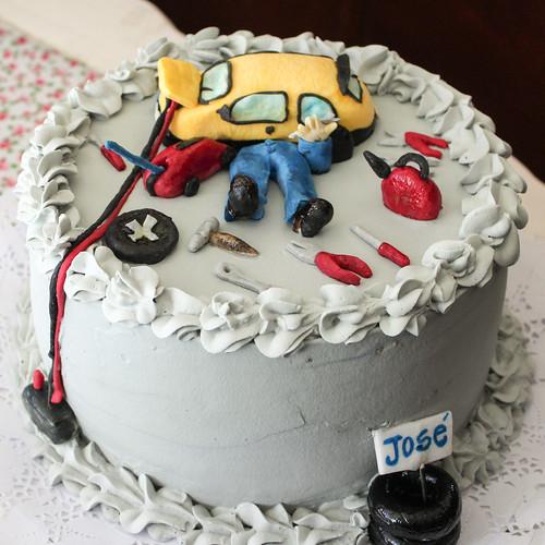 Torta tradicional con Fondant - Mecánico